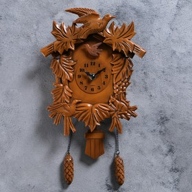 """Часы настенные с кукушкой """"Лесные жители"""""""