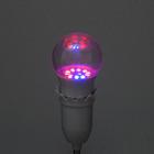 Светодиодная лампа для растений Luazon 7 Вт, E27, 220В