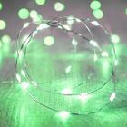 Светодиодная нить для шаров Зеленого свечения, 3м, 30 Led