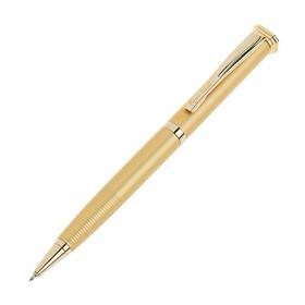 Ручка шариковая поворотная Pierre Cardin Gamme, латунь, золотая (PC0836BP) Ош
