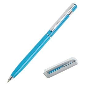 Ручка шариковая поворотная Pierre Cardin Easy, алюминий, синяя (PC5915BP) Ош