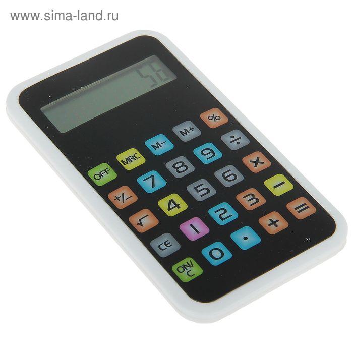 Калькулятор Айфон 8-разрядный