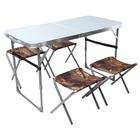 Набор ССТ-К2 стол (пласт) металл и 4 стула ССТ-К2