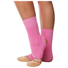 Гетры для танцев №5, без носка и пятки, L= 30 см, цвет розовый