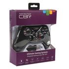 Геймпад беспроводной CBR CBG 959, для PC/PS3/XBOX 360/Android, 2 вибро мотора, черный