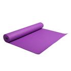 Коврик для йоги, толщина 4 мм, цвета МИКС