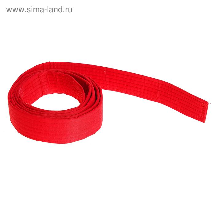 Пояс для единоборств, красный
