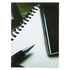 """Колледж-тетрадь А4, 120 листов клетка Calligrata """"Офис"""", твёрдая обложка"""