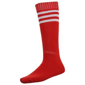 Гетры футбольные красные, безразмерные