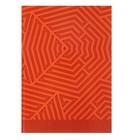 """Колледж-тетрадь А4, 80 листов клетка Calligrata """"Красная геометрия"""", твердая обложка"""