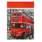 """Колледж-тетрадь А4, 80 листов клетка Calligrata """"Лондон"""", твердая обложка"""