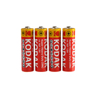 Батарейка солевая Kodak Extra Heavy Duty, АА, R6-4S, спайка, 4 шт.