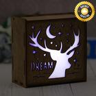 """Светильник деревянный """"Dream"""""""
