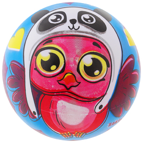 Мяч детский Совенок 22 см, 60 гр Ош