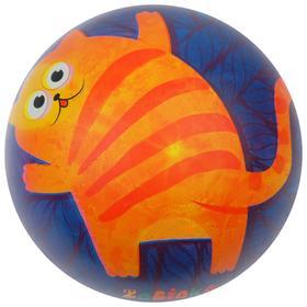 Мяч детский Котик 22 см, 60 гр Ош