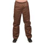 Брюки мужские цвет коричневый, р-р 44