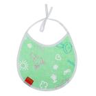 Нагрудник из клеёнки с ПВХ-покрытием, на завязках, с рисунком