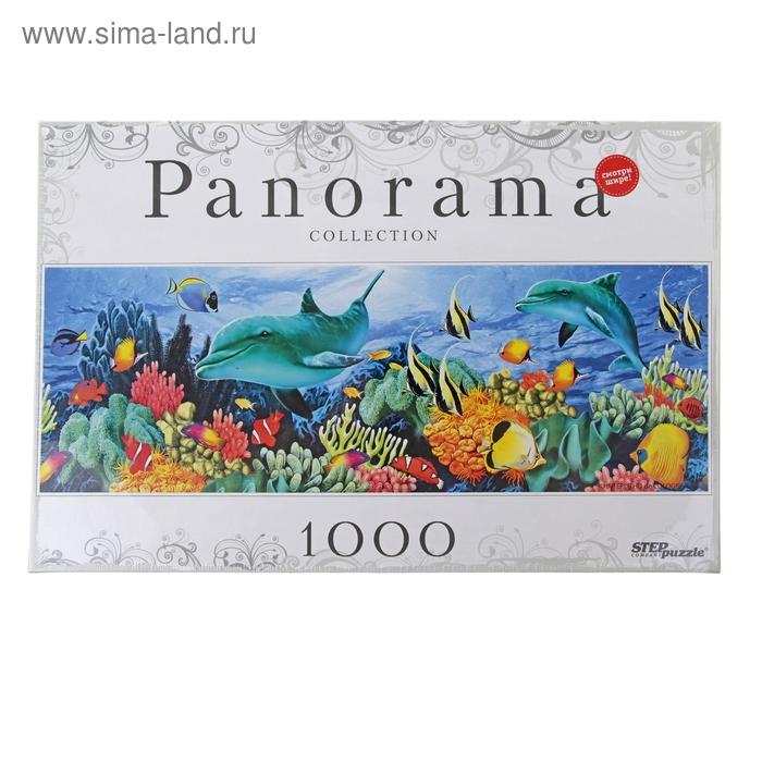 """Пазлы """"Подводный мир"""" Panorama, 1000 элементов"""