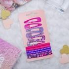 """Набор для волос """"Летний день"""" 6 резинок, 6 невидимок 5 см фиолетовый"""