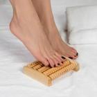"""Массажёр деревянный для ног """"Ножное счастье"""", 5 рядов"""