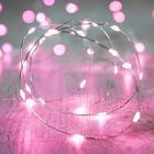 Светодиодная лента для воздушного шара, 3 метра, розовый цвет