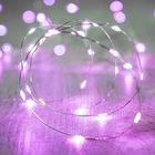 Светодиодная лента для воздушного шара, 3 метра, фиолетовый цвет