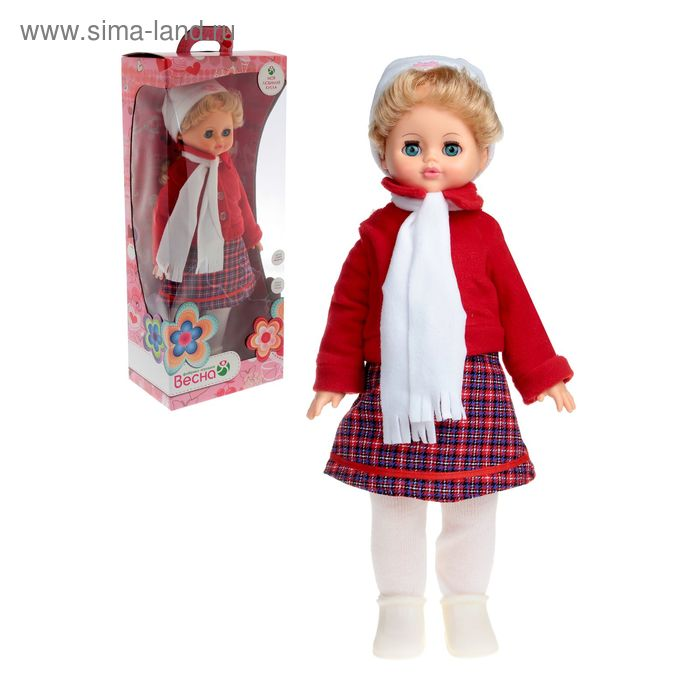 """Кукла """"Алиса 2"""" со звуковым устройством и механизмом движения, МИКС"""