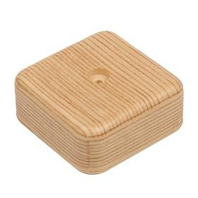 Коробка распределительная T-plast, 50х50х20 мм, сосна, 50.12.002.0002, Ош