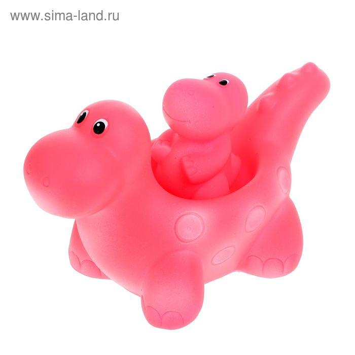 """Резиновая игрушка """"Веселые динозаврики"""""""