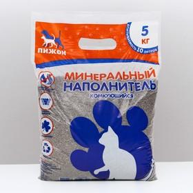 Наполнитель комкующийся 'Пижон', объём впитываемости до 15 л, 7,5 кг Ош