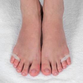 Корректоры для пальцев ног, на 2 пальца, пара, цвет белый Ош