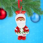 """Набор для лепки новогодней фигурки """"Дед Мороз"""" из полимерной глины"""