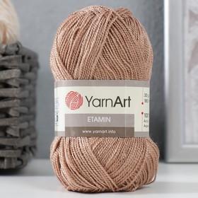 Пряжа 'Etamin' 100% акрил 180м/30гр (447 св. коричневый) Ош