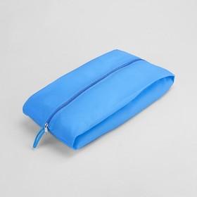 Сумка для обуви, 37*10*16, 1 отд на молнии, голубой Ош