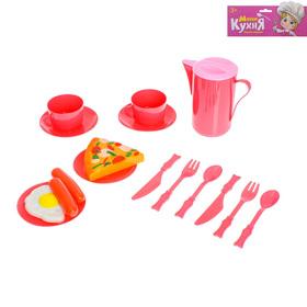 МИНИ КУХНЯ Набор посуды ' Завтрак' 16 предметов Ош