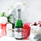 Набор «Новогодний» (Гель для душа Fiesta Bianco, 500 мл + Мочалка из нейлона,цвет микс)