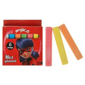 Мелки цветные 6 штук LadyBug Ош