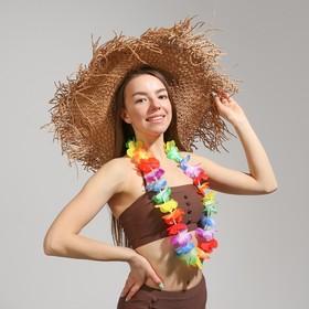 """Гавайское ожерелье """"Цветок плюмерия"""""""