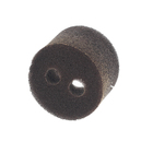 Пятачок кабана коричневый на резинке, поролон