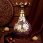 """Интерьерный сувенир ваза """"Классика"""" латунь, 14х14х26 см"""