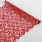 """Пленка для цветов и подарков """"Анастасия"""" красный 0.7 х 7 м, 40 мкм"""