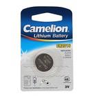 Батарейка литиевая Camelion CR2016-1BL (CR2016-BP1), 3V, блистер, 1 шт.