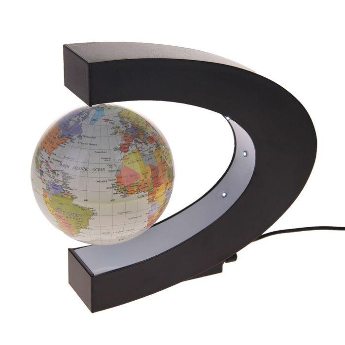 Глобус сувенирный левитирующий, политическая карта, англ., язык, 220V