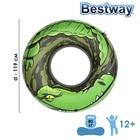 Круг надувной для плавания со шнуром,119 см, цвет МИКС