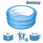 Бассейн для малышей, 70 х 30 см, от 2 лет, цвет МИКС