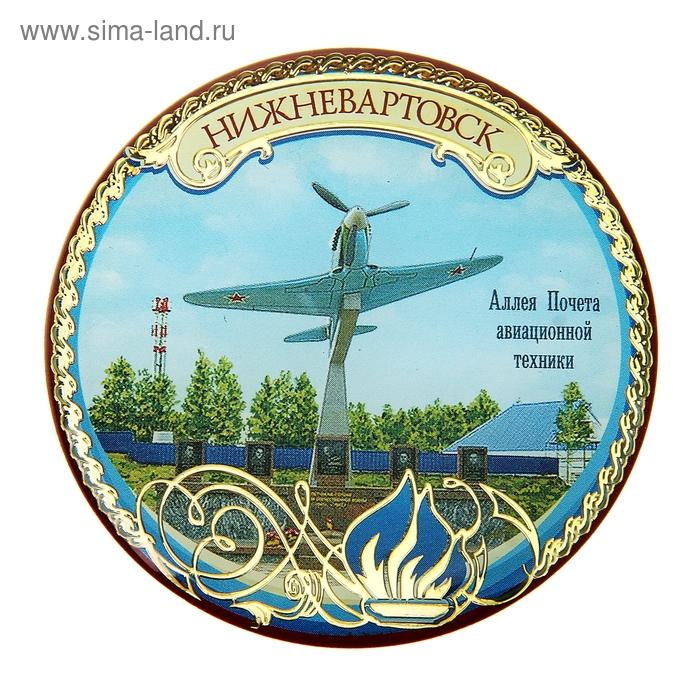 """Магнит """"Нижневартовск, Аллея почёта авиац.техники"""""""
