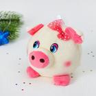 """Мягкая игрушка-присоска """"Свинка"""" розовые щёчки"""