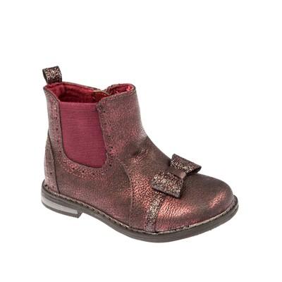 Ботинки детские арт. SС-25037, цвет бордовый, размер 22