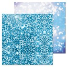 Фотофон двусторонний «Лёд», 45 х 45 см, картон, 100 г/м