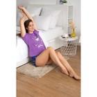 Пижама женская (футболка, шорты) 221ХГ2372П  цвет сиреневый, р-р 46